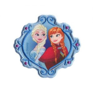 Ecussons broderie La reine des neiges