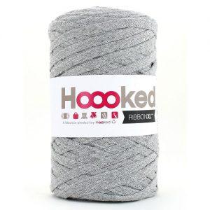Fil 100% recyclé Pelote 250 gr hoooked ribbon XL uni 110m