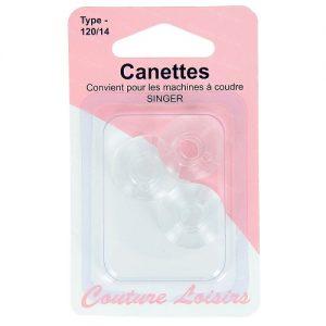 Canettes singer plastique – type 66 X3