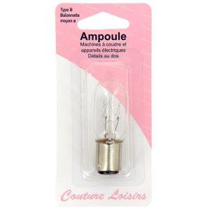 Ampoule 15w / 240 v baionnette moyenne