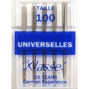 Aiguilles machines universelles 100/16