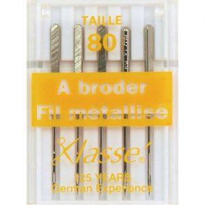 Aiguilles machine métalfil 80/12