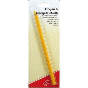 Crayon à marquer jaune