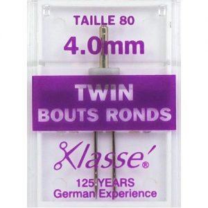 Aiguilles machine double bouts ronds 80 – 3mm