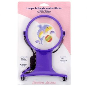 Loupe broderie