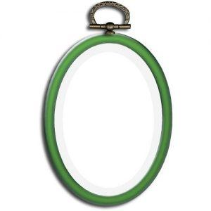 Cadre ov. 6.5 x 9 cm vert