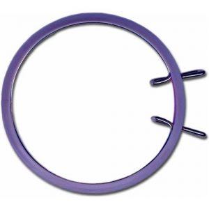Cercle broderie machine 13cm violet