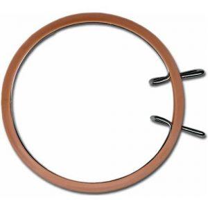 Cercle broderie machine 13cm marron