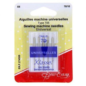 Aiguilles machine universelles 70/10 – x5