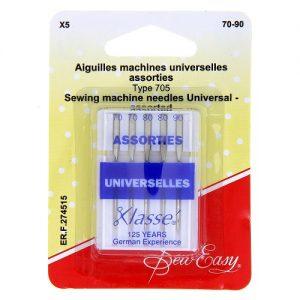 Aiguilles machines universelles assorties 70-90 -x