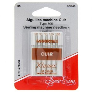 Aiguilles machine Cuir  90/100 – x5