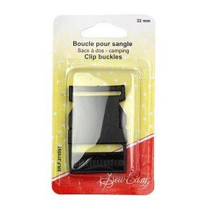 Boucle pour sangle sac à dos – 32 mm