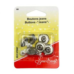 Boutons jeans – x6