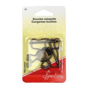 Boucles salopette – x2