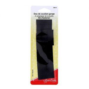 Dos de soutien-gorge   – noir – 38 mm