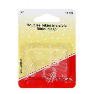 Boucles bikini invisible X2 12 mm