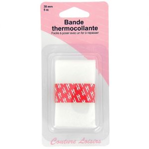 Bande thermocollante pour ourlet 38 mm x 5m