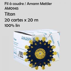 Boite 20 cartes 20 m Titan