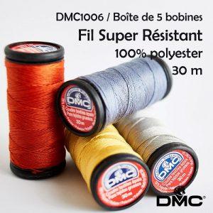 Boîte 5 bobines 30 m Super Résistant