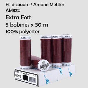 Boite 5 bobines Extra fort 30 m