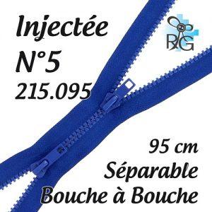 Fermeture injectée n°5 B à B séparable 95 cm