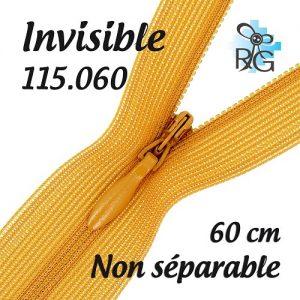 Fermeture invisible 60 cm