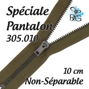 Fermeture spéciale pantalon non séparable 10 cm