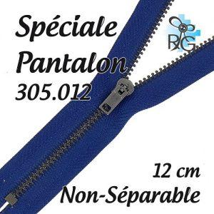 Fermeture spéciale pantalon non séparable 12 cm