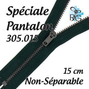 Fermeture spéciale pantalon non séparable 15 cm