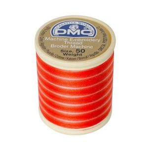 5 bobines 500 m fil à broder machine