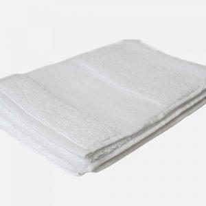 Serviette de toilette éponge 50 x 100 cm