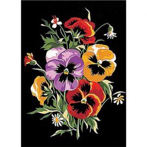 Kit canevas penelope dessin 22 x 30 cm
