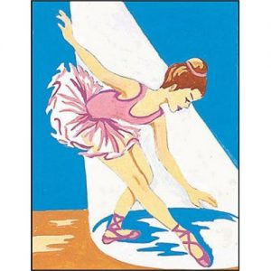 Kit canevas penelope dessin 14 x 18 cm