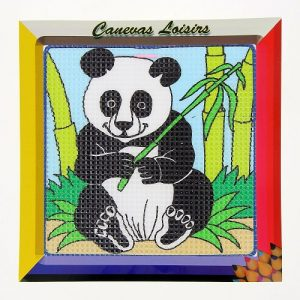 Kit canevas enfant gros points 15 x 15 cm