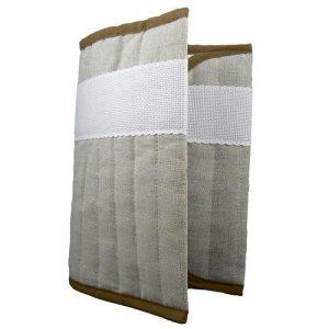 Carnet de santé lin – coton 17 x 23 cm