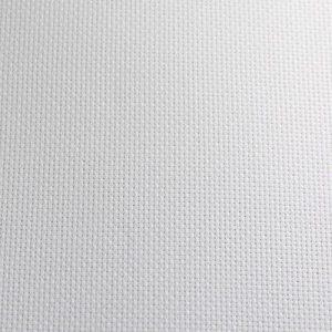 1mt toile aida 5.5 l 150cm blanc/écru 100% Coton