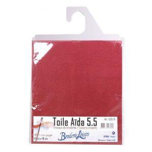 Toile aïda 5.5 couleur – 45 x 40 cm