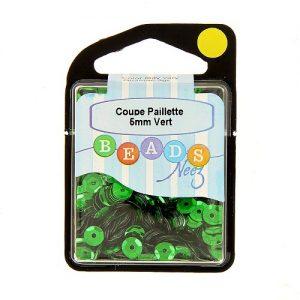 Coupe paillette col.vert 5 gr
