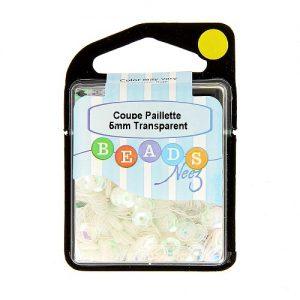Coupe paillette col. transparent 5 gr