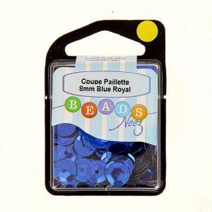 Coupe paillette col.bleu royal 5 gr