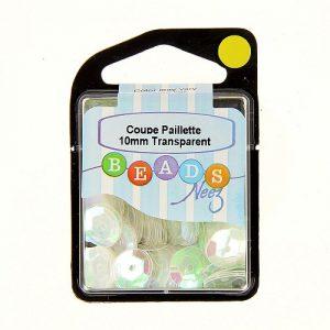 Coupe paillette col.transparent 5 gr