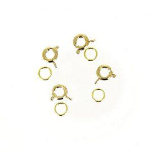 Fermoir anneau col.or