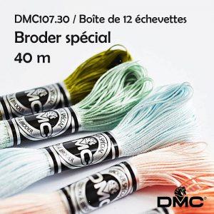 Boite 12 Echevettes 40 m broder special