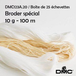 Boite 25 Echevettes 10 g broder special 100 m