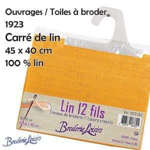 Carré de lin 45 cm x 40 cm - 100% Lin