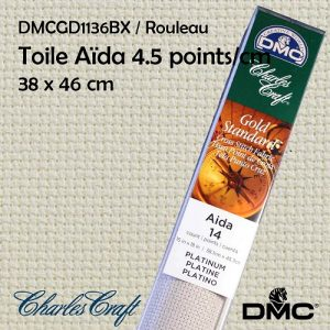 Toile Aïda 4.5 points/cm 38x45cm