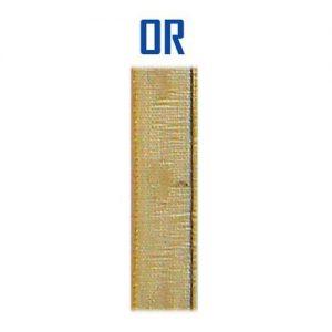 Disquette 25 m organza 9 mm