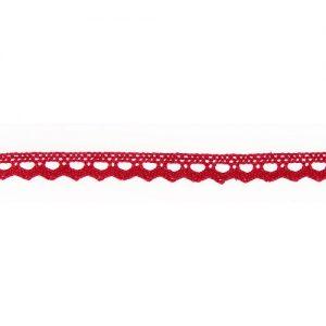 Bobine 25 m Dentelle coton 10 mm