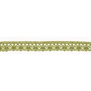 Bobine 25 m Dentelle coton 12 mm