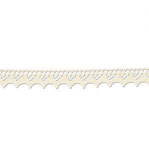 Bobine 25 m Dentelle coton 15 mm